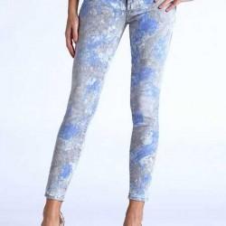 Çiçekli 2014 Yazlık Kot Pantolon Modelleri