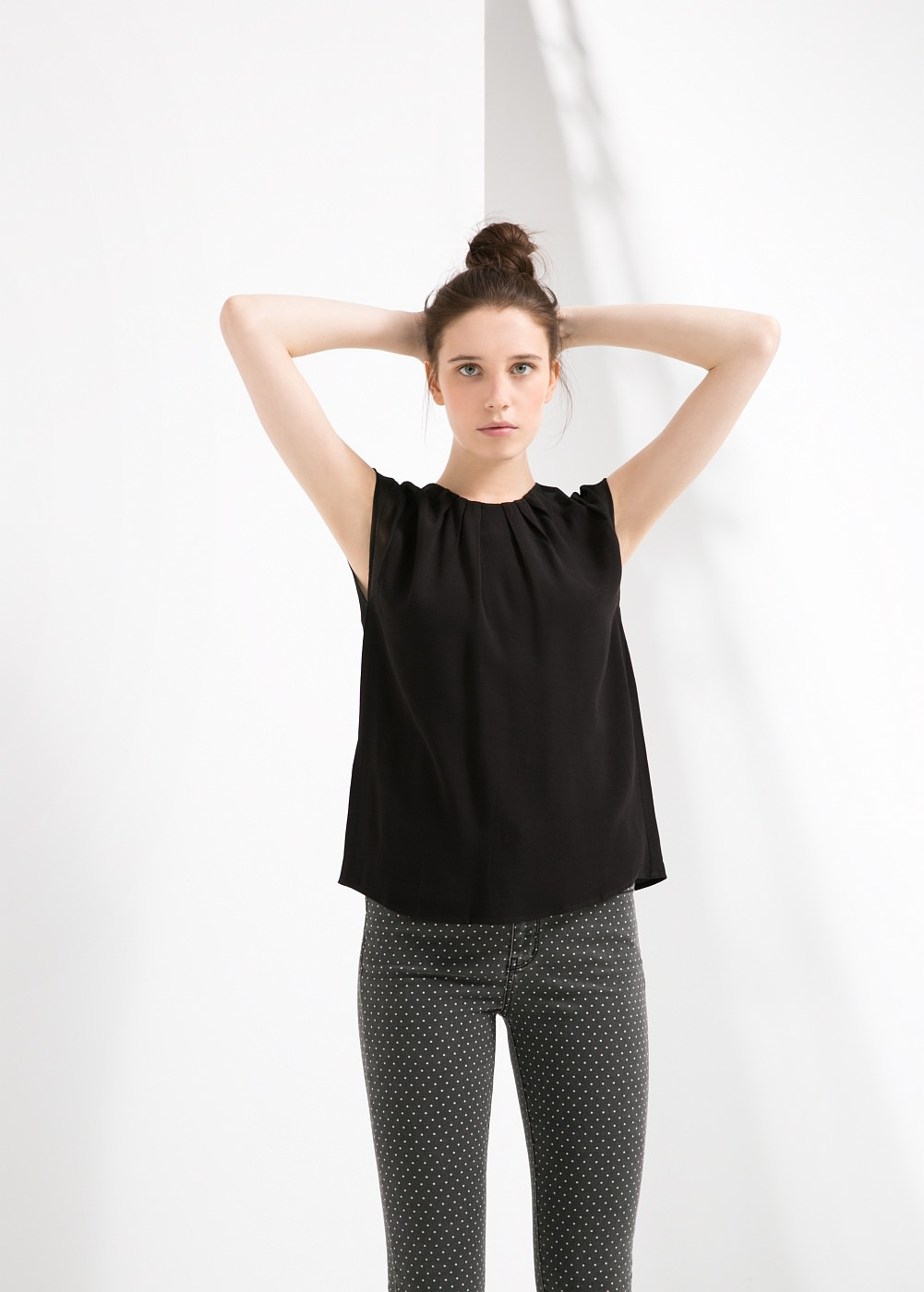 Şifon Mango Bluz Modelleri