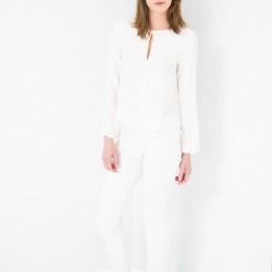 Ajur Motifli Mango Bluz Modelleri