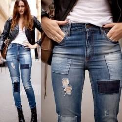 Farklı 2014 Yazlık Kot Pantolon Modelleri