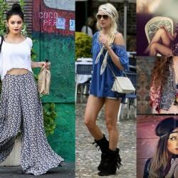 Hippi Kız Kombin Modelleri