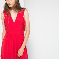 Kırmızı Mango Elbise Modelleri