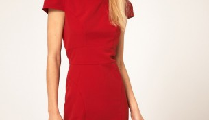 Kırmızı Yazlık Elbise Modelleri