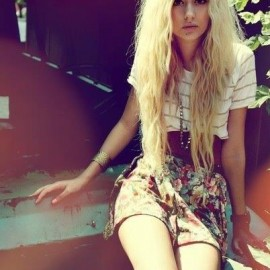 Kısa Hippi Kız Kombin Modelleri