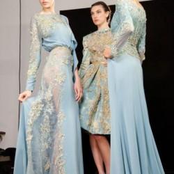 Mavi Yeni Sezon Dantelli Abiye Modelleri