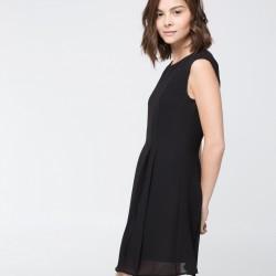 Siyah Düz Mango Elbise Modelleri