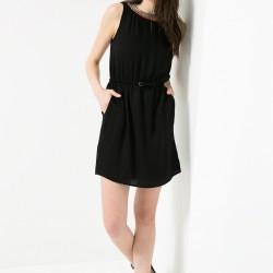 Siyah Mango Elbise Modelleri