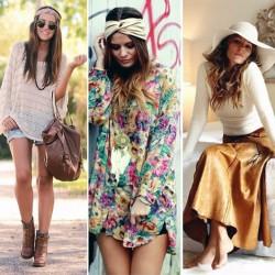 Trend Hippi Kız Kombin Modelleri