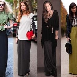 Trend Uzun Etek Modelleri