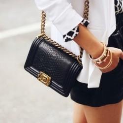 Yandan Chanel Çanta Modelleri