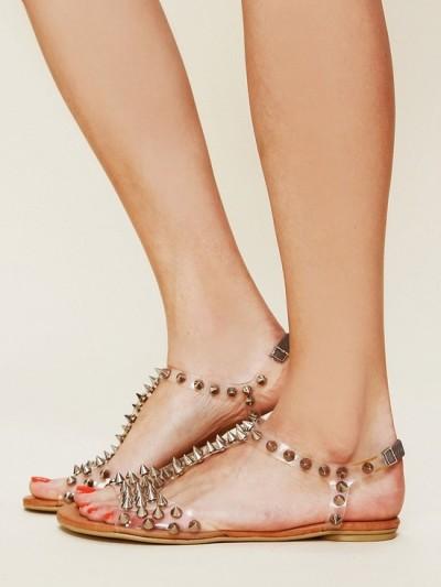 Zımbalı Sandalet Modelleri