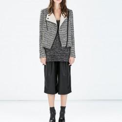 Çizgili Zara Ceket Modelleri