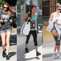 Ünlülerin 2014 Spor Giyim Modelleri