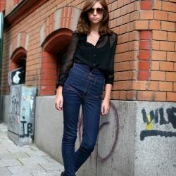 2014 Yüksek Bel Kot Pantolon Modelleri