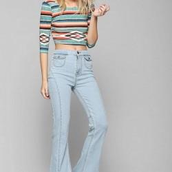 Açık Renkli 2015 Pantolon Trendleri