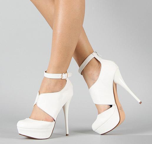 Bilekten Bağlamalı Yeni Sezon Gelin Ayakkabısı Modelleri