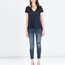 Düşük Bel Yeni Zara Jeans Modelleri
