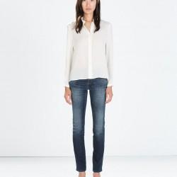 Düz Yeni Zara Jeans Modelleri
