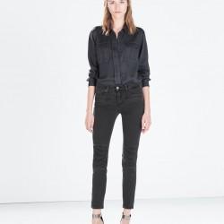 Dar Kesim Yeni Zara Jeans Modelleri