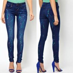Desenli Yeni Sezon Jean Modelleri