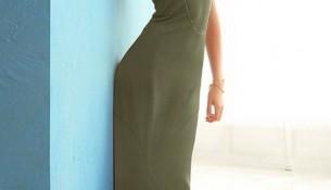 Elbise 2015 Haki Rengi Giyim Modelleri