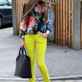 Farklı Neon Pantolon Modelleri