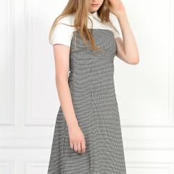 Gri Yeni Sezon Adil Işık Elbise Modelleri