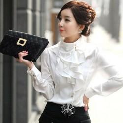 Japon Stil Yeni Sezon Kollu Bluz Modelleri