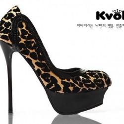 Leopar Desenli İnce Topuklu Ayakkabı Modelleri