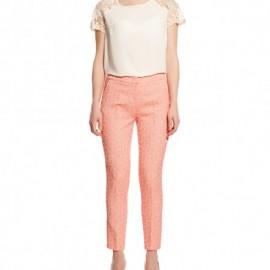 Pembe Sonbahar Koton Pantolon Modelleri