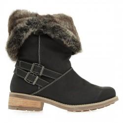 Sİyah 2015 Kış Ayakkabı Modası