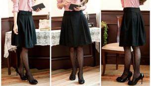 Siyah Polo Kışlık Etek Modelleri