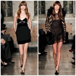Siyah Slip Elbise Modelleri
