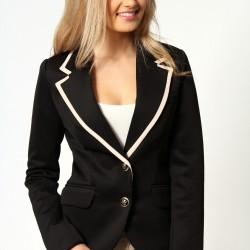 Siyah Trend Blazer Ceket Modelleri