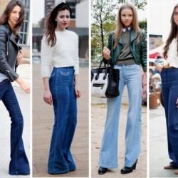 Yüksek Bel Kot 2015 Pantolon Trendleri