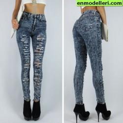 Yüksek Bel Yeni Sezon Jean Modelleri