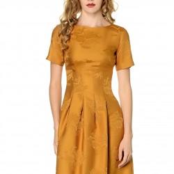 Yarım Kollu Yeni Sezon Adil Işık Elbise Modelleri