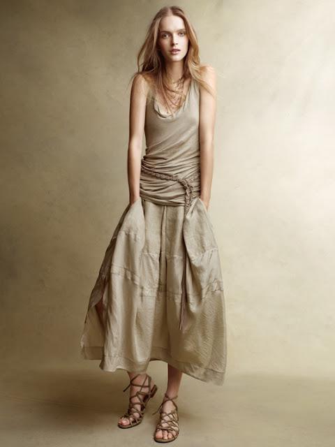Yazlık Keten Elbise Modelleri