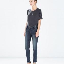 Yeni Zara Jeans Modelleri
