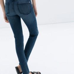 Zara Yüksek Bel Kot Pantolon Modelleri