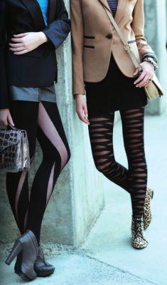 Şık Kışlık Çorap Modelleri