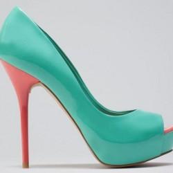 Şık Su Yeşili Ayakkabı Modelleri