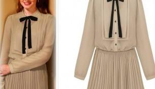 Şık Vintage Elbise Modelleri