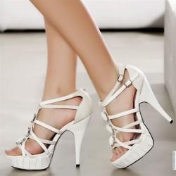 2014 Beyaz Ayakkabı Modelleri