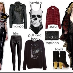 2015 Punk Modası
