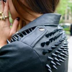 Deri Mont 2015 Punk Modası