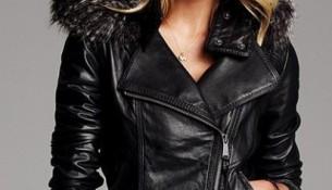 Kürklü 2015 Deri Ceket Modelleri