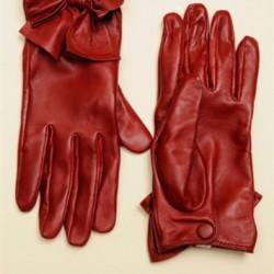 Kırmızı Yeni Sezon Eldiven Modelleri