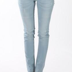 Sade Dar Paça Buz Rengi Pantolon Modelleri
