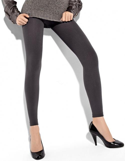 Siyah 2014 Kışlık Tayt Modelleri